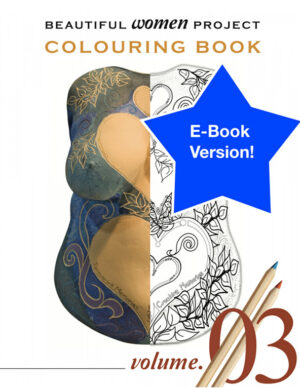 Beautiful Women Project Colouring Book - Volume 3