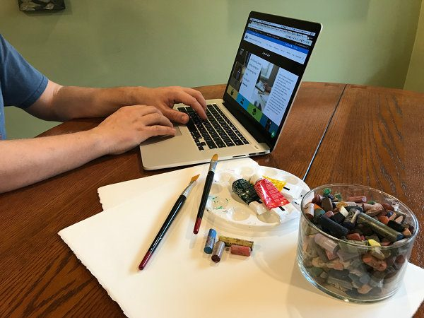 Art and computer
